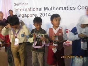 Haidar Medali Perunggu Olimpiade Math